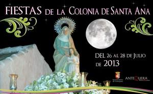 Colonia de Santa Ana Fiestas 2013 del 26 al 28 de Julio