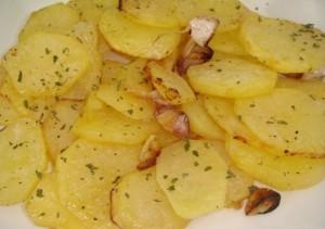 patatas al limon