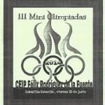 mini olimpiadas 2014