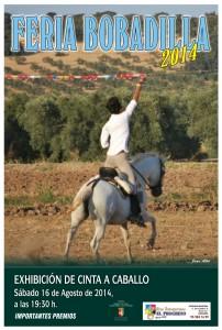 cartel caballo 14