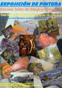 Cartel de exposición pintura 2015